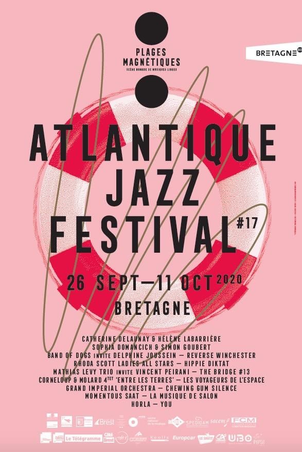affiche atlantique jazz fest 2020