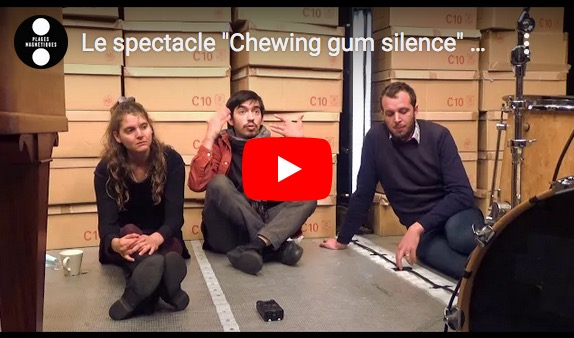 Chewing gum silence