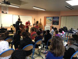 Lipazz trio - collège du Vizac